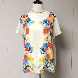 XXI Forever 21 Floral Top